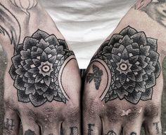 Gorgeous hand tattoo, originally pinned by Em Kemshaw-Lewis