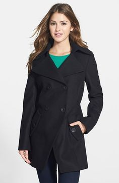 b8ccf3acf Gallery Nepage A-Line Walking Coat with Detachable Hood & Liner ...