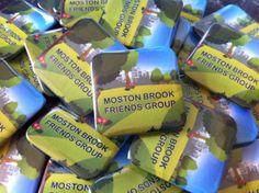 Promote your community project, if you don't have a design, but have an idea, we can create it for you, included in the price of the badges. Button pin badges square 38mm www.quickbadge.co.uk