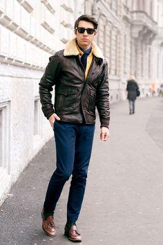 Modern Aviator #Style #Fashion #Men #MensWear #Male #MaleTrends