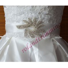 10,44 4,59 3szt wholesale bride new bridal  crystal rhinestone accessories belts with crystals ra305