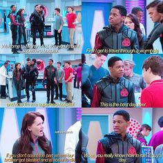 — I keep watching and watching my m&g video and it's really cute aah I love sabrina. #labrats #labratsbionicisland #labratsvsmightymed #mightymed