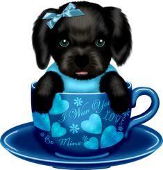Adorable Cute Animals, Cute Little Animals, Animals Beautiful, Cute Cats, Anime Girl Neko, Chica Anime Manga, Cute Animal Illustration, Cute Animal Drawings, Cute Baby Puppies