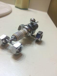 Spark plug dragster