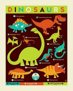 i want this for my kid's room. gotta start them early on the dinosaur obsession.