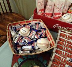 Baseball baby shower ideas