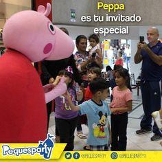 Una buena manera de comenzar el día es al lado de Peppa Pig contáctanos y reserva este personaje tan querido  #pequesparty #maracaibo #diversion #entretenimiento #PeppaPig #peppa #fiestasmaracaibo #fiestainfantil #eventosmaracaibo #animacion