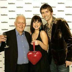 David Tennant, Andrew Davies, and Jemima Trooper.