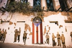 The Manini Experience - Things to Do in Old San Juan - Puerto Rico Flag Door