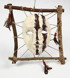 11179 A Framed African Mask