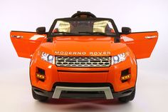 Range Rover Style 12V Kids Ride-On Car MP3 Battery Powered LED Wheels RC Remote | Orange