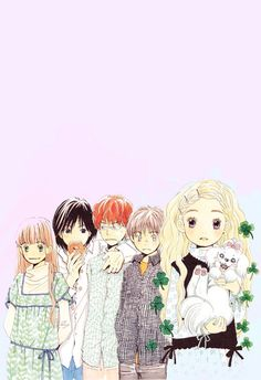 """"""" favorite friendships: the honey and clover gang """" Honey And Clover, Inspired, Anime, Fictional Characters, Cartoon Movies, Anime Music, Fantasy Characters, Animation, Anime Shows"""