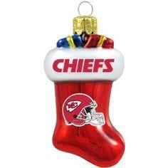 Kansas City Chiefs Ornaments