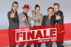 #TVOI #FINALE #PieroPelù #JAx #Noemi #RobyFacchinetti #FrancescoFacchinetti