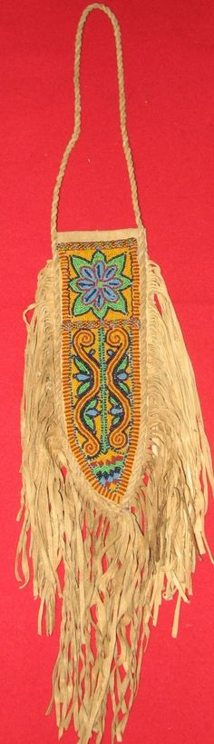 beaded knife sheath