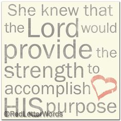 redletterwords - She Knew. . . Purpose, $19.00 (http://www.redletterwords.com/she-knew-purpose/)