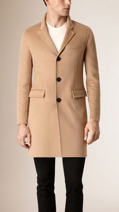 Tailored Cashmere Coat