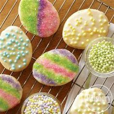 Funfetti® Easter Cookies from Pillsbury® Baking