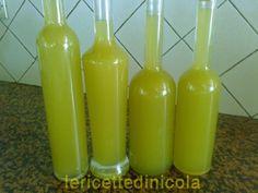 1 lt. alcool buongusto 95° 1 lt acqua minerale naturale 750 gr. zucchero 8+8 limoni verdi