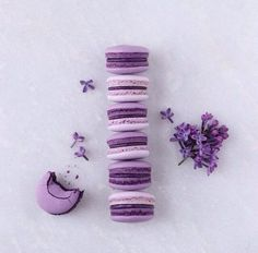 My fave colour! Repost with Do you like macarons? These amazing creations are the purple perfection from Maja Vase. Violet Aesthetic, Lavender Aesthetic, Rainbow Aesthetic, Aesthetic Colors, Purple Food, Pastel Purple, Purple Haze, Shades Of Purple, Light Purple
