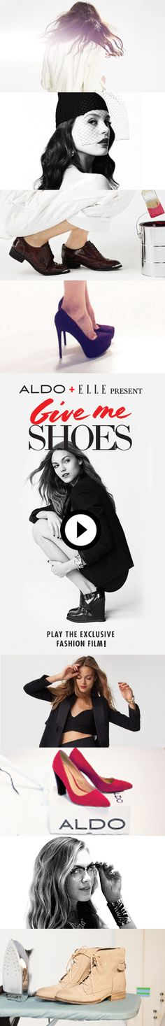 Check out Give Me Shoes - An #interactive film by ALDO & Elle. Watch the film and learn more at http://elle.com/aldo #fashion
