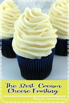Everyone needs a great cream cheese frosting recipe and our The Best Cream Cheese Frosting recipe won't disappoint. Sweet and creamy and delicious. Frosting Recipes, Dessert Recipes, Easy Desserts, Delicious Magazine Recipes, Tastemade Recipes, New Years Eve Food, Thanksgiving Cakes, Good Food, Yummy Food