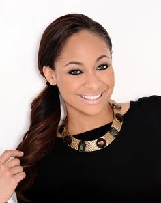 """Actress Raven Symone ~ one of my favorite people and actresses. I loved her as a child star and also """"That's so Raven"""" was one of my favorite shows. While she was stylish she wasn't afraid to make you laugh."""