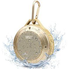 rogeriodemetrio.com: Outdoor Bluetooth 4.0 Speaker Gold