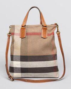 0ba983b8789 Burberry Brit Satchel - Medium Tottenham Bin  Pradahandbags Burberry  Handbags