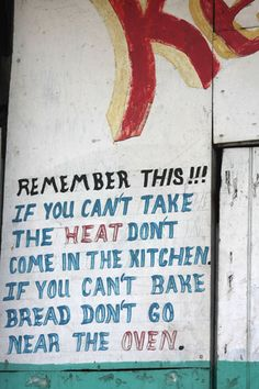 Funny quote to paint near the kitchen, better font though
