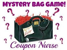 coupon-nurse-Mystery-bag   Here is where I'd Love o tell you I'd really like the Blood pressure cuff.