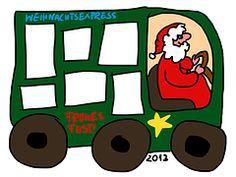 Christmas Express, Template, Frame