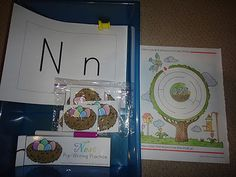 TONS of Great Letter and Number Workboxes