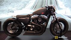 Harley Davidson Sportster Forty Eight customized by Rizoma