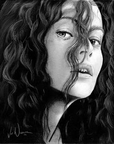 Harry Potter Project: Bellatrix LeStrange by artbyjoewinkler.deviantart.com on @deviantART