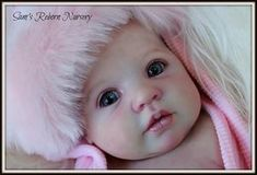 Reborn Baby Lily with Pacifier and Special Layette-Custom Created