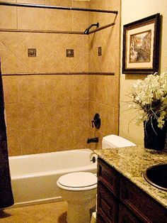 Tuscan Look...thinking this would be good in my brother's bathroom!!