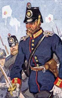 Preußische Garde-Artillerie, -Pionier, -Train, -Landwehr