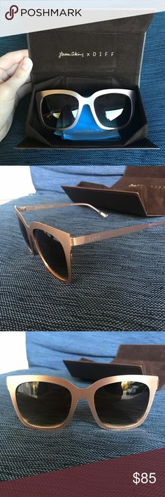 0556380ad7 Diff Eyewear Lauren Akins rose gold sunglasses BRAND NEW! Beautiful sunglasses  and great quality!