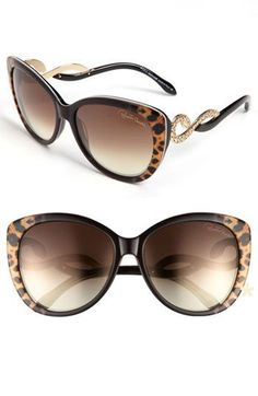 Emmy DE * Roberto Cavalli 'Kurumba' Oversized Sunglasses