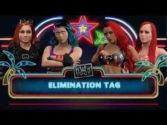 WWE2K17-DIVAS UNIVERSE-NWO WORLD TOUR-TAG-ROXANNE BALLESCA & BECKY LYNCH...