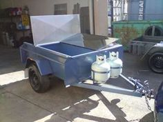 We specialize in building custom built or made trailers for sale in Melbourne. Need a BBQ trailers, off road trailers or van body trailers or other display trailers? We build to your specifications. Bbq Trailer For Sale, Box Trailer, Off Road Trailer, Trailers For Sale, Custom Trailers, Storage Compartments, Product Offering, Melbourne, Commercial