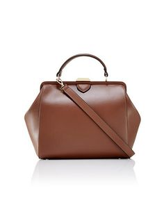 Leather Frame Satchel from THELIMITED.com