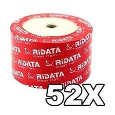 100 Ritek Ridata 52X CD-R 80min 700MB White Inkjet Hub Printable by Ritek. $25.94. This is the RITEK made Ridata brand Inkjet Hub Printable CD-Rs. RITEK is the world leading optical disc manufacturer and its constant devotion of the technology and quality of its product made its brand name top in the world. This bundle comes with CD-Rs that have white inkjet hub printable surface. And even if you don't have any inkjet CD/DVD printer; it is still a good conside...