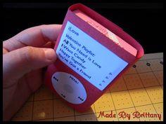"""Chocolates dentro de uma """"capinha"""" de iPod"""