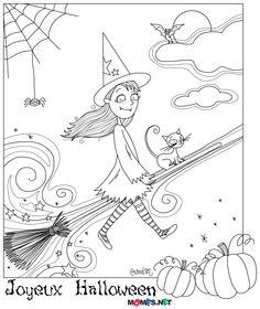Joyeux Halloween ! (et un p'tit coloriage dedans ;) - Le blog de momes.net