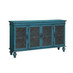 Accents by Andy Stein Four Door Media Credenza by Coast to Coast Imports