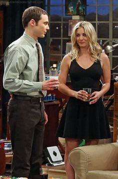 The big bang theory Penny and Sheldon