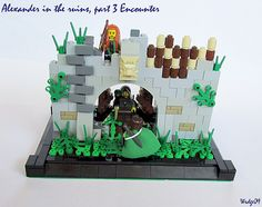 Alexander in the ruins, part 3 Encounter by Wedge09 on Flickr