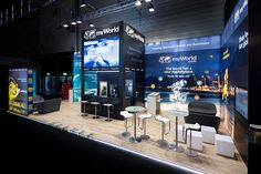 myWorld Solutions auf der DMEXCO 2019 | myWorld Solutions Innovation, Conference Room, Table, Furniture, Home Decor, Decoration Home, Room Decor, Meeting Rooms, Tables